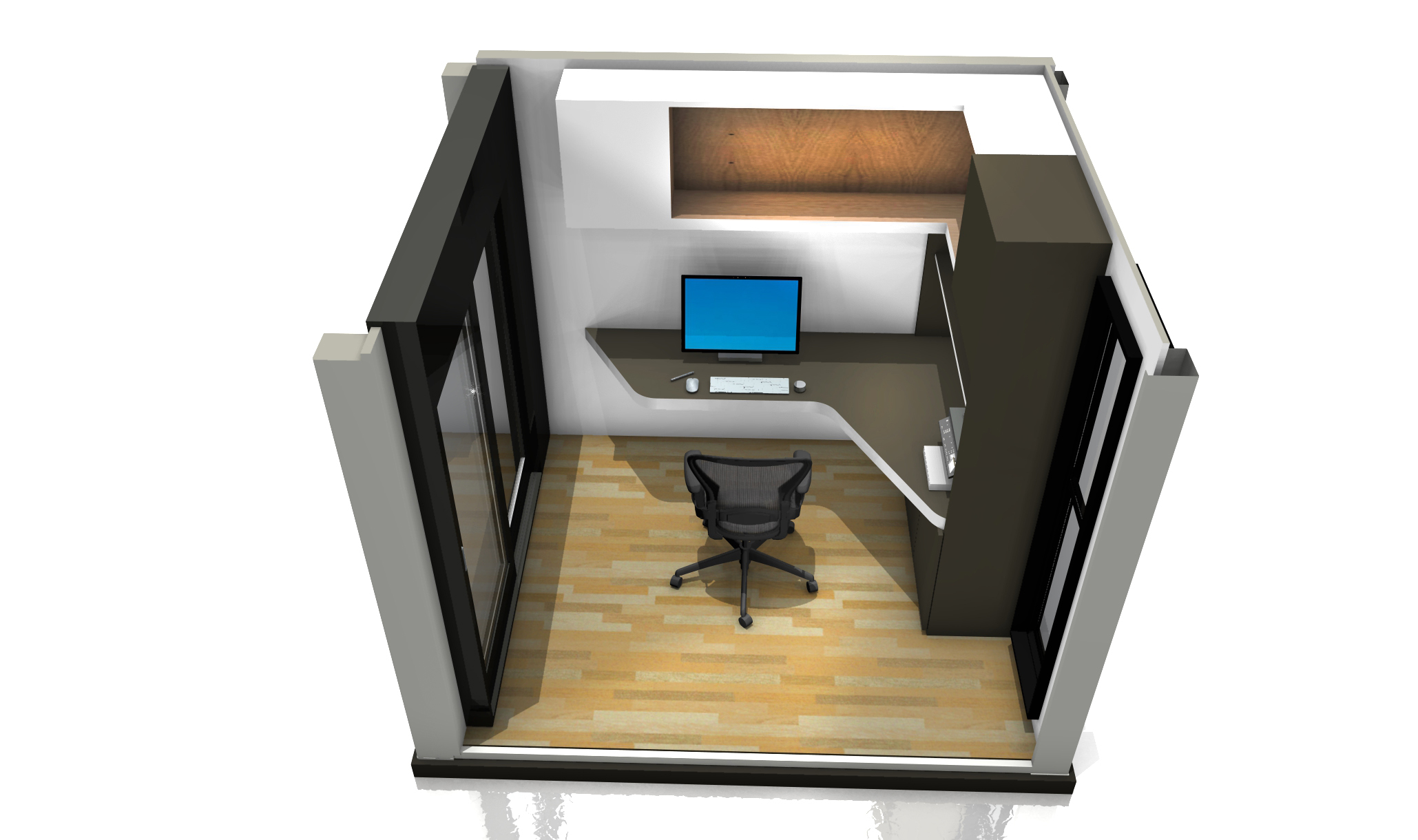 10ft Container Home Office